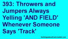 It is the Track and Field Team not just Track