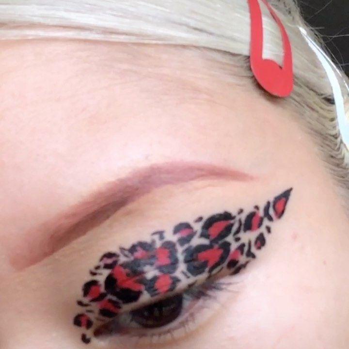 Mandyretsuko S Instagram Profile Post First Little Tik Tok Tutorial Def Wanna Make More Hehe Using Sandytaboo Liner Of Co Makeup Blog Makeup Goals Makeup