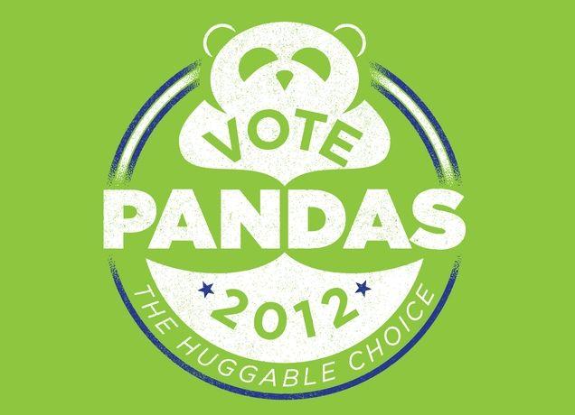 Vote pandas!
