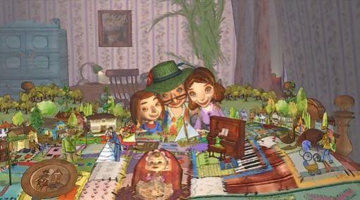 Une grand-mère en établissement. Une couverture remplie de souvenirs. C'est l'histoire touchante d'Émilie et de sa grand-mère.