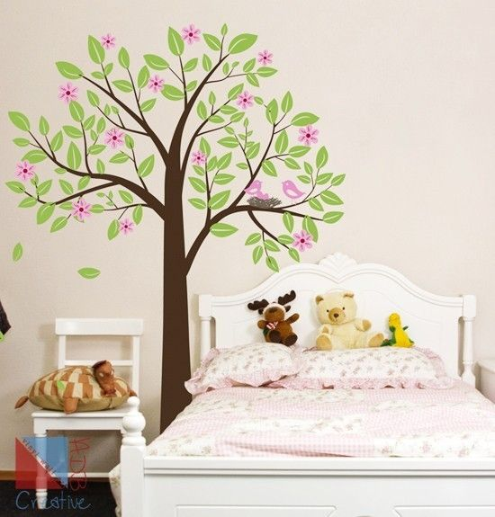 Blossom tree wall decor