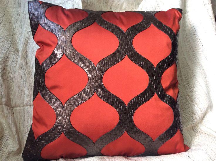 16*16 decorative cushion value added fabrics