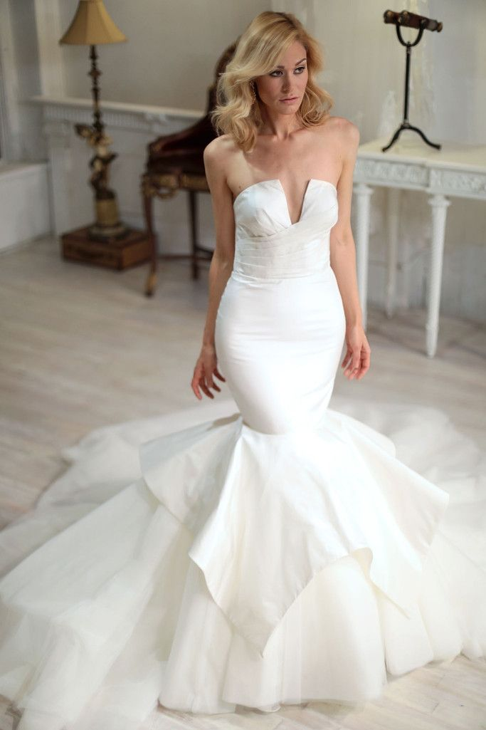 Sarah Jassir Bridal Fall 2018 wedding dress.