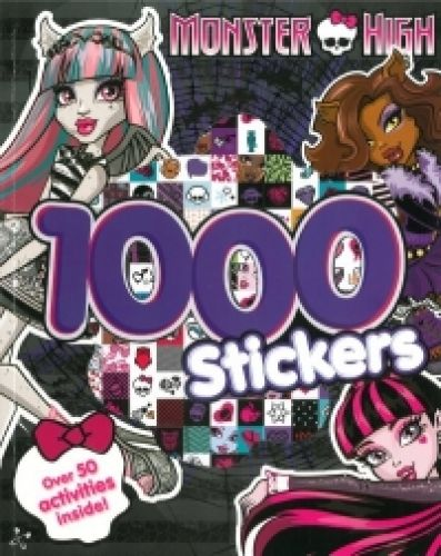 Monster High 1000 Stickers,