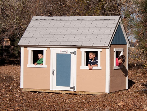 4 39 x8 39 tuff shed playhouse tuff shed recreational for Kids playhouse shed