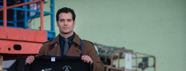 Nouvelle photo de Henry Calvill pour #BatmanVSuperman : Dawn of Justice #ClarkKent
