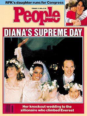photo   Weddings, Arne Naess Jr. Cover, Celebrity Wedding Albums, Diana Ross Cover, Arne Naess, Jr., Diana Ross, Kathleen Kennedy Townsend