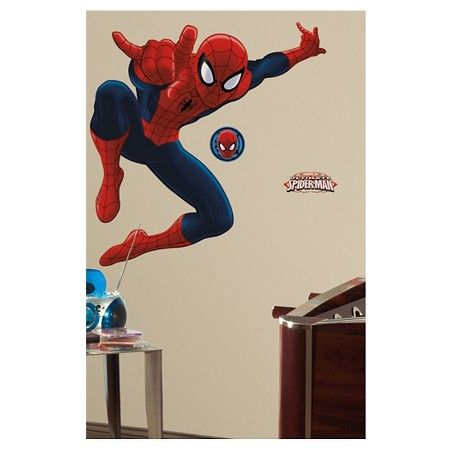 Best Spiderman Bedroom Images On Pinterest Spiderman Batman - Superhero wall decals target