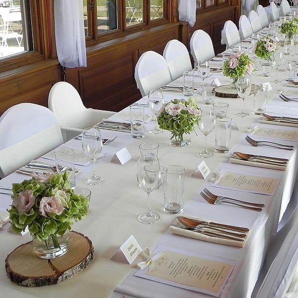 Dekorace svatební hostiny