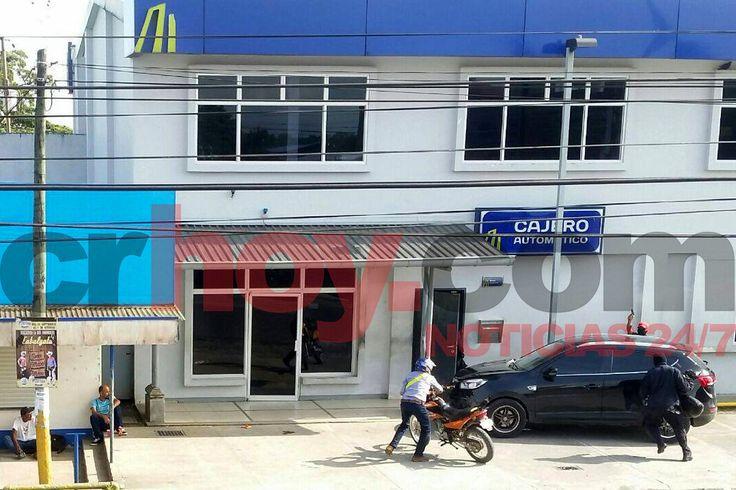 Fuerza Pública y OIJ realizan operativo para atrapar asaltantes del Banco Nacional