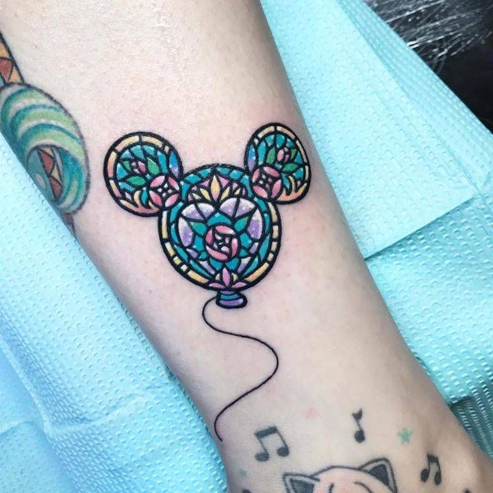 17 Best Ideas About Mickey Mouse Tattoos On Pinterest