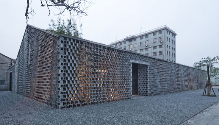 Bricks Facades, Exhibitions Spaces, Archie Union, Bricks Buildings, Shanghai Buildings, Modern Bricks, Construction Materials, Architecture Firm, Union Architects