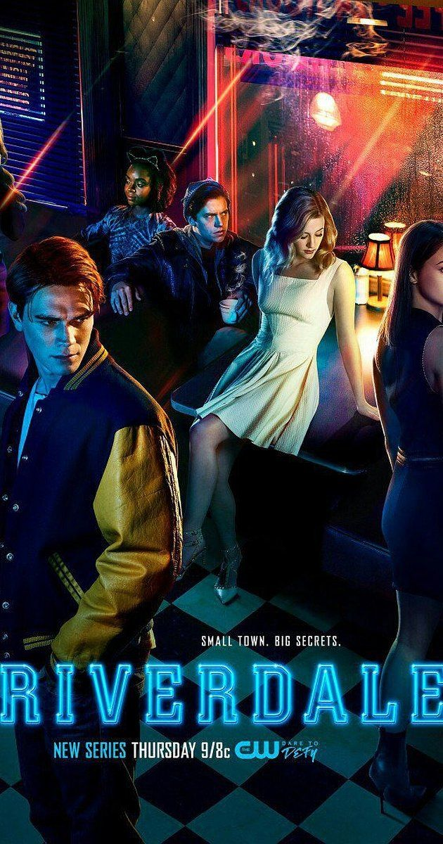 TV Series 2017- Created by Roberto Aguirre-Sacasa.  With K.J. Apa, Lili Reinhart, Camila Mendes, Cole Sprouse. A subversive take on Archie and his friends, exploring small town life, the darkness and weirdness bubbling beneath Riverdale's wholesome facade.