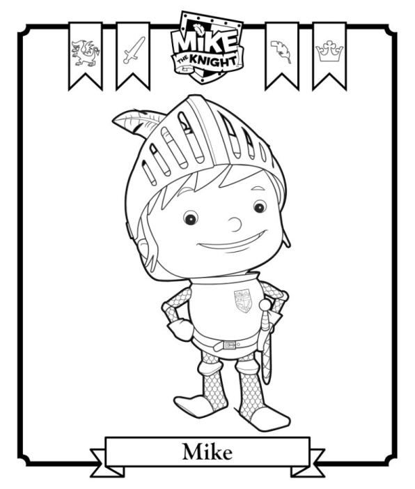 Fun to do! We love Mike the Knight! Celebrating our bumper deluxe offer with some colouring in :))