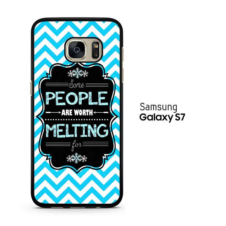 Olaf Quotes Samsung Galaxy S7 Case