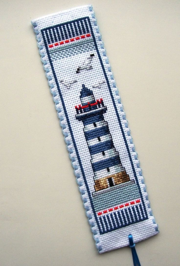 Vervaco Lighthouse bookmark.