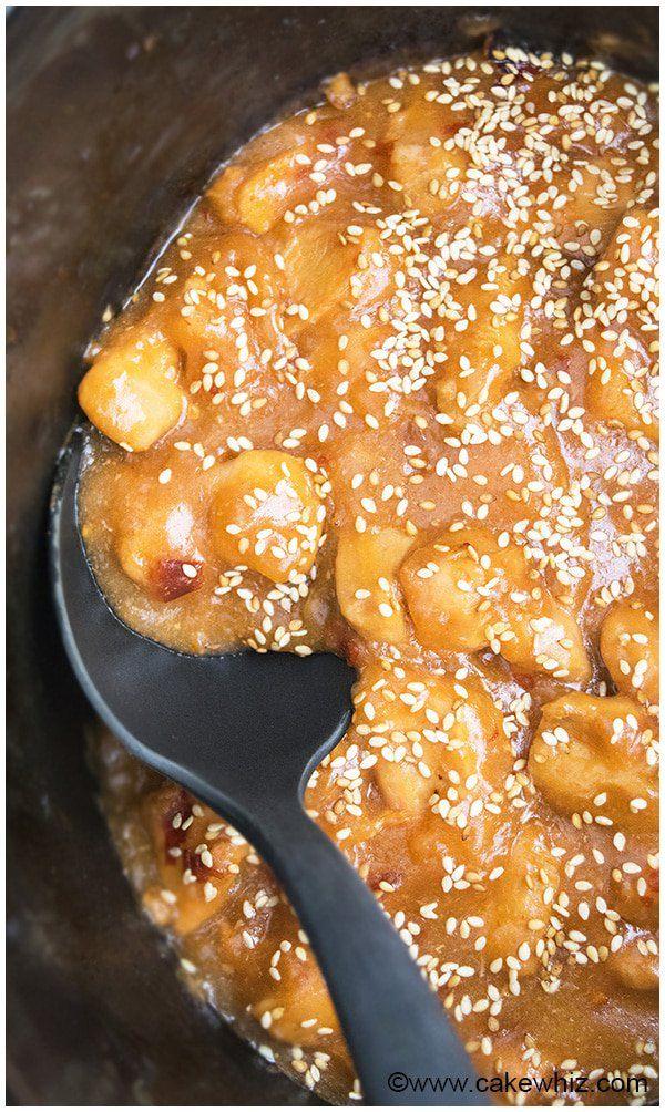 Slow Cooker Sesame Chicken Recipe 02