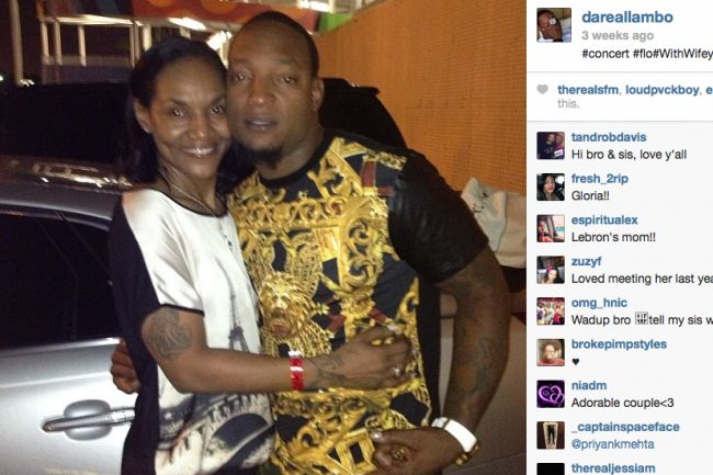 LeBron James' Mother Gloria Reportedly Dating Rapper, and Internet Has Thoughts