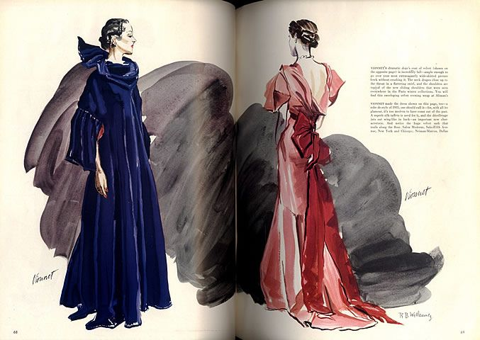 ... Rouge on Pinterest  Red gowns, Christian dior and Elsa schiaparelli