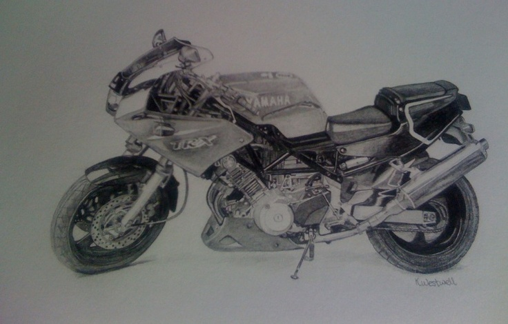 finished pencil drawing