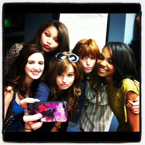 Debby Ryan,Zendaya,Bella Thorne,China Anne McClain and Laura Marino