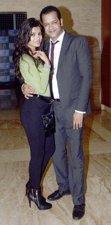 Rahul Mahajan with Sonali Raut at Armaan Kohli's bash. #Bollywood #Fashion #Style #Beauty #Page3