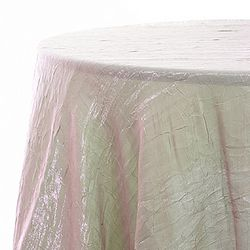 Pink or Lime? The iridescence on our crush linens create a new look at every angle.