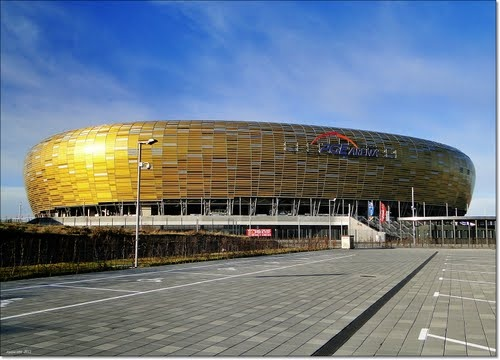 Amber stadium in Gdansk