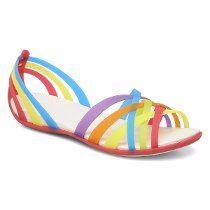 Ojotas Crocs Huarache Flat, Flip-flop Originales!!!