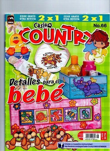 Revista country para bebe gratis
