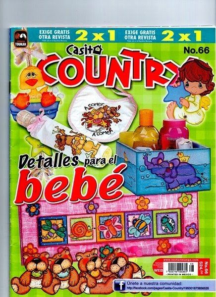 Revista country para bebe gratis