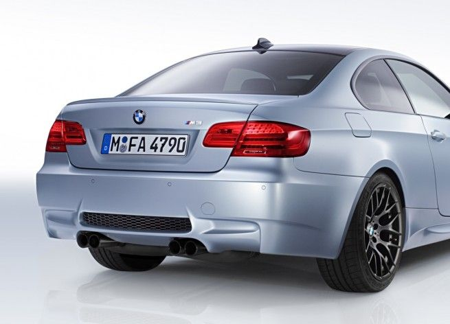 Frozen Silver 2012 BMW M3 Competition Edition