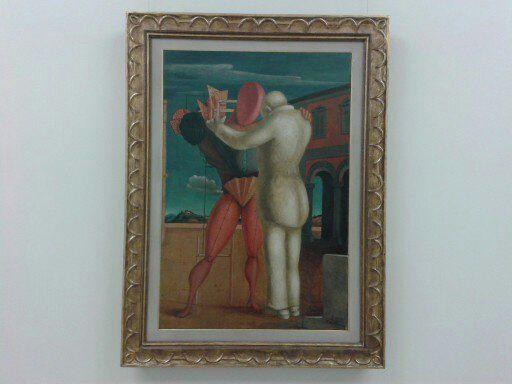 IL FIGLIOL PRODIGO (1922) G. De Chirico