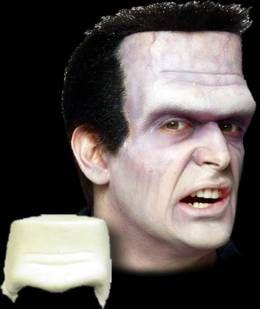 Abbey Normal monster brow appliance- for Ben's Frankenstein costume