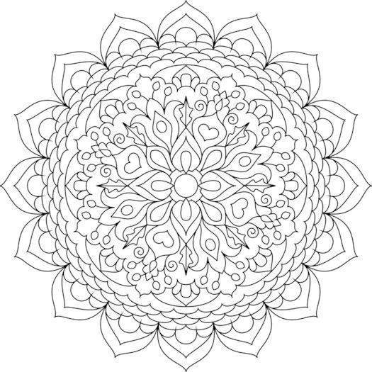 Druckbare Malvorlagen   Seite 9   pics   Malvorlagen Mandala