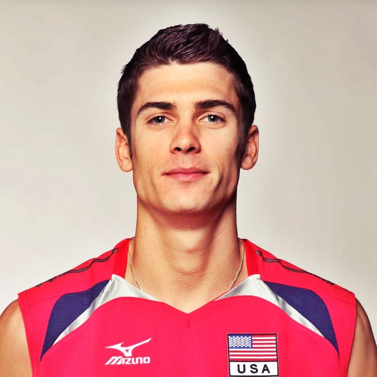 "This is Matt Anderson, he will be your new boyfriend, just let CJ know... look him up.  He's a 6'10"" professional volleyball player!!!!  I love him."