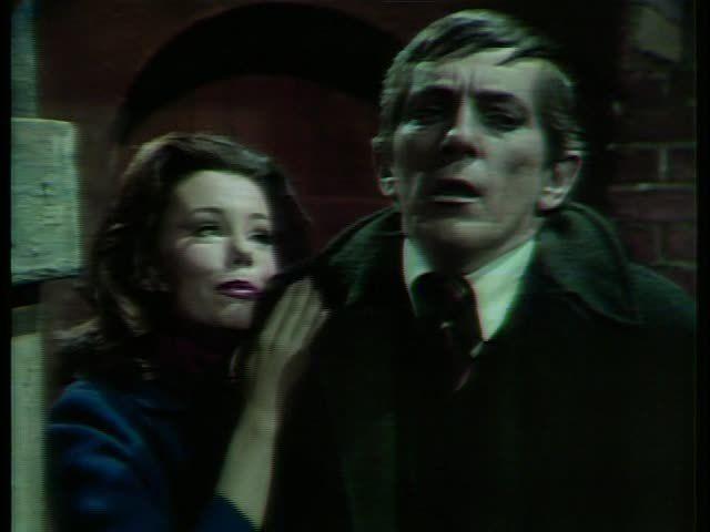 Marsha Mason with Jonathan Frid as Barnabas Collins