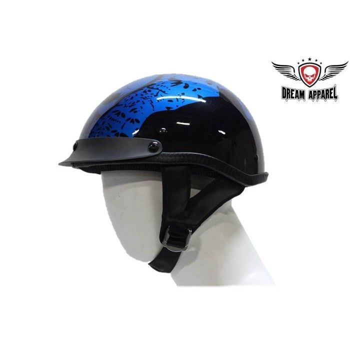 200 Boneyard Blue DOT Helmet