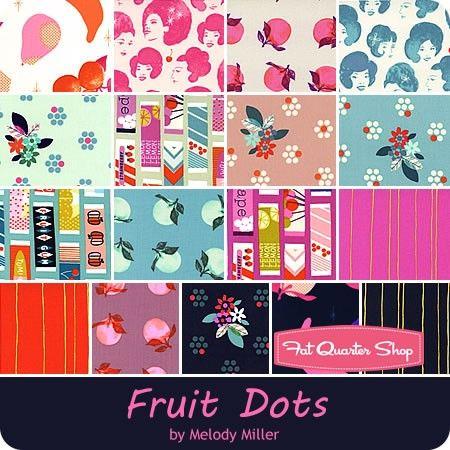 Fruit Dots Fat Quarter BundleMelody Miller for Cotton + Steel Fabrics - Fat Quarter Bundles | Fat Quarter Shop