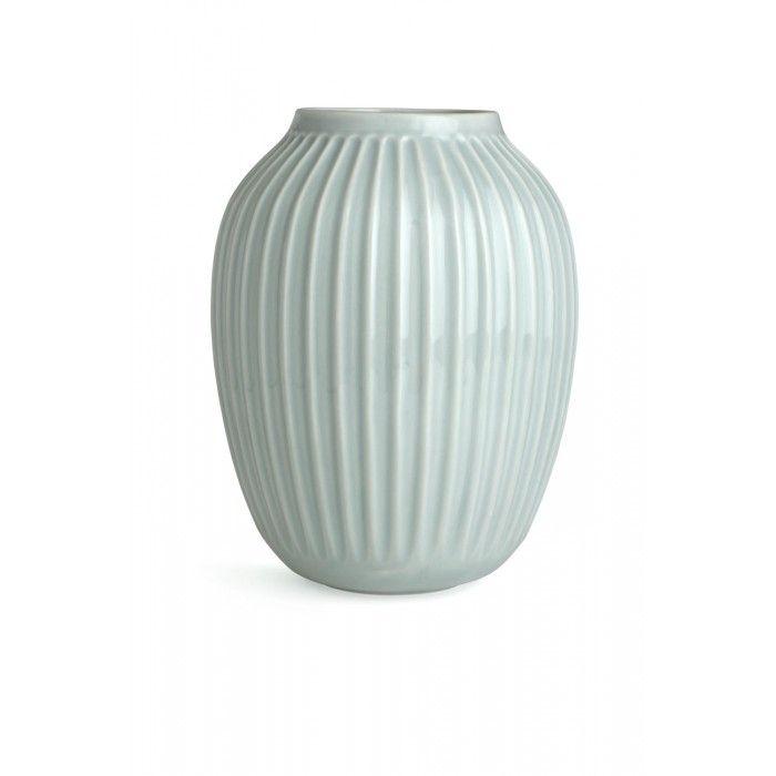 Kähler Hammershøi Vase Mintgrønn h:25cm