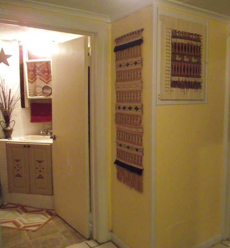 17 best images about hidden fuse box in plain sight these wall hangings worked on a narrow wall the little one is hanging over the