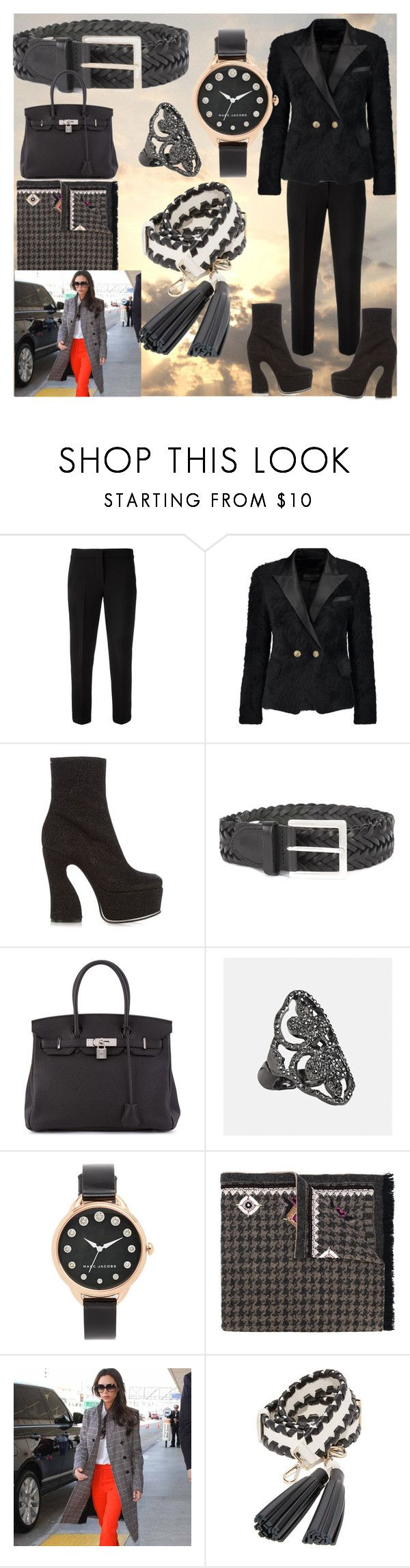 """set for amazing"" by denisee-denisee ❤ liked on Polyvore featuring MaxMara, Balmain, Maison Margiela, rag & bone, Hermès, Avenue, Marc Jacobs, Bazar Deluxe, Kate Spade and vintage"