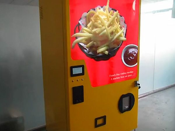 French fry vending machine