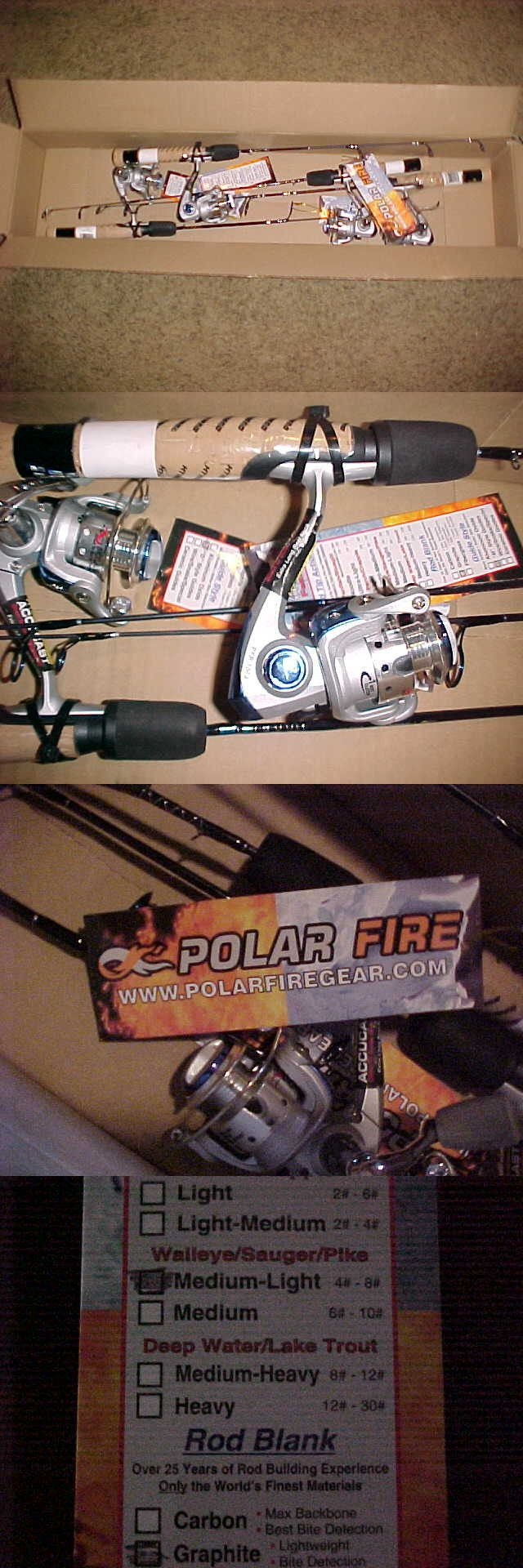 Ice Fishing Rods 179947: Ht Polar Fire Blue Select Ice Rod With Reels, Qty 4. Brand New Pfb-27Mlsc -> BUY IT NOW ONLY: $165.0 on eBay!