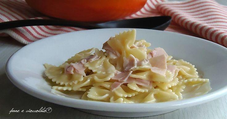 Pasta formaggino e prosciutto cotto