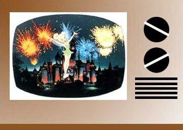 The Wonderful World of Disney on TV.  Sunday nights and then, Mutual of Omaha's Wild Kingdom