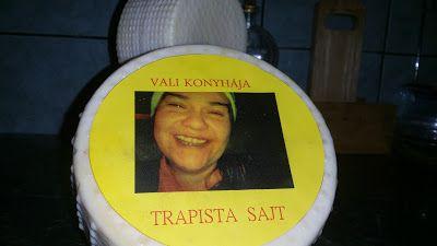 Boros Valéria: Trappista sajt oltóval és kultúrával, házi tejből!...