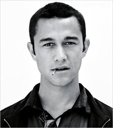 Joseph Gordon-Levitt (and also guys should just have cigarettes in their mouth or hand even if unlit)