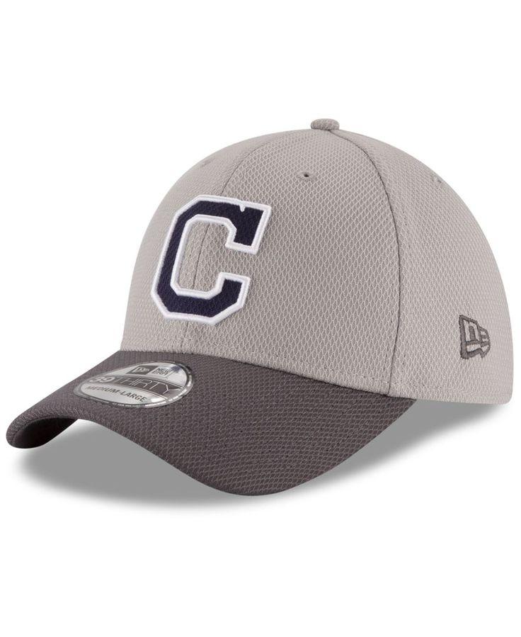 New Era Cleveland Indians Team Grayed 39THIRTY Cap