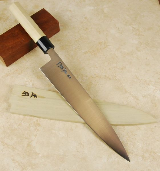 masamoto ks white 2 steel 255 mm based on french sabatier chef 39 s knives pinterest french. Black Bedroom Furniture Sets. Home Design Ideas